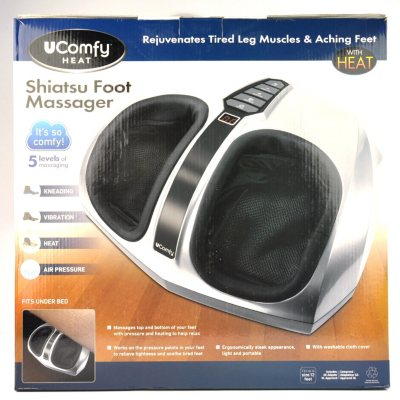 uComfy Shiatsu Foot Massager with Heat.  Ends: Oct 21, 2014 8:00:00 PM CDT