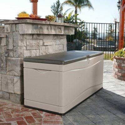 Lifetime Outdoor Storage Deck Box, 130 Gallon.  Ends: Sep 30, 2014 9:30:00 AM CDT