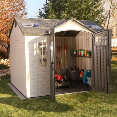 Lifetime USA 8' x 10' Shed.  Ends: Apr 24, 2014 12:00:00 AM CDT