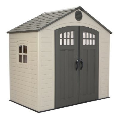 Lifetime 8x5 Storage Shed.  Ends: May 5, 2016 10:00:00 PM CDT