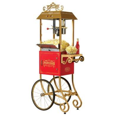 Antique Popcorn Cart