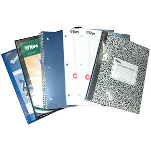 Tops Back-2-School Notebook and Binder Kit - 8 pk. - Red