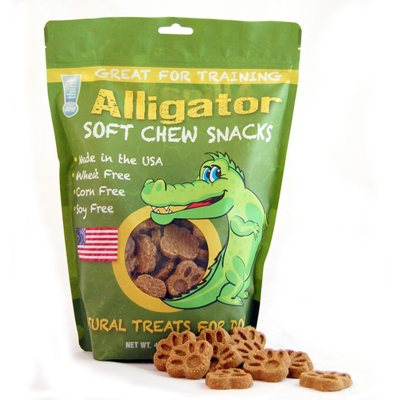 think!dog Alligator Jerky Dog Treats, 42 oz..  Ends: Oct 1, 2014 7:30:00 PM CDT