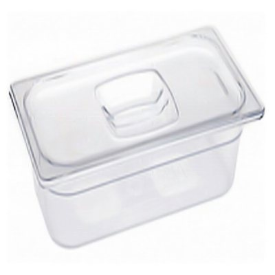 "Rubbermaid 1/3 Size Cold Food Pans with Lids (2-6"").  Ends: Dec 19, 2014 12:45:00 AM CST"