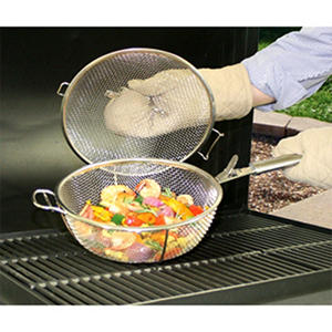 backyard classic professional gourmet stainless steel mesh