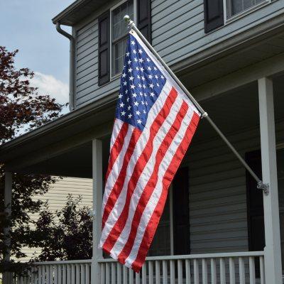 U.S. Flag Kit, Made in the U.S.A..  Ends: Aug 23, 2014 10:40:00 AM CDT