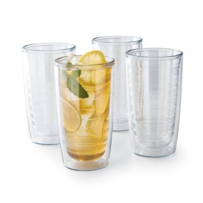 Tervis® Double Wall Tumbler Set, Clear (4 pk.).  Ends: Jan 26, 2015 3:15:00 PM CST