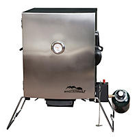 Portable Gas Smoker with Stainless Steel Door