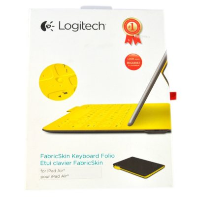 Logitech FabricSkin Keyboard Folio (iPad Air)