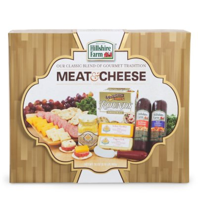 Hillshire Farms Meat & Cheese Gift Box.  Ends: Feb 27, 2015 1:25:00 AM CST