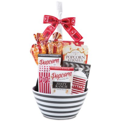 Country Wine Gourmet Popcorn Deluxe Gift Basket.  Ends: Dec 21, 2014 8:35:00 AM CST