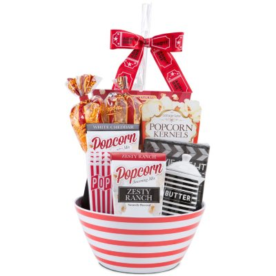 Country Wine Gourmet Popcorn Deluxe Gift Basket.  Ends: Dec 22, 2014 6:20:00 PM CST