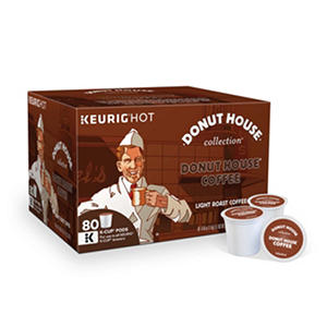 Donut House® Coffee - Light Roast - 80 Keurig K-Cups®