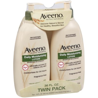 Aveeno Active Naturals Lotion (18 oz./2 pk.).  Ends: Oct 10, 2015 2:00:00 AM CDT