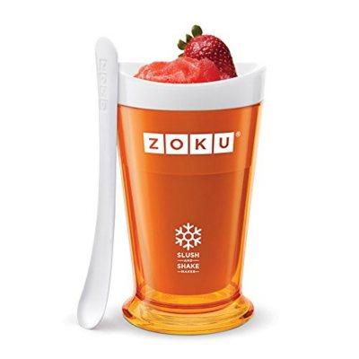 Zoku Slush & Shake Maker, Orange.  Ends: Dec 20, 2014 5:45:00 PM CST