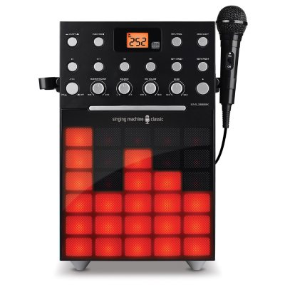The Singing Machine Karaoke Synchronized Disco LED Lights, Black.  Ends: Jun 25, 2016 12:35:00 AM CDT