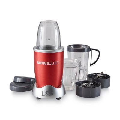 NutriBullet Nutrition Extraction System, Red.  Ends: Jul 5, 2015 1:03:00 AM CDT