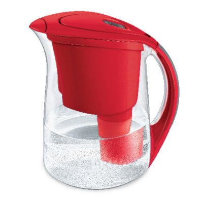 Brita Oceania Water Filter Pitcher, Red (10 Cup).  Ends: Sep 22, 2014 9:20:00 PM CDT