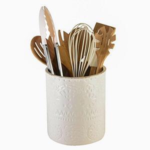 Pfaltzgraff 9-Piece Kitchen Tool Set with Ceramic Utensil ...