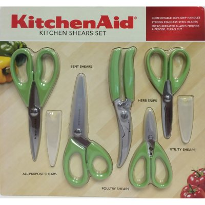 KitchenAid 5-Piece Shear Set, Green