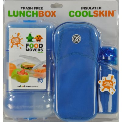 Food Movers Lunchbox, Blue