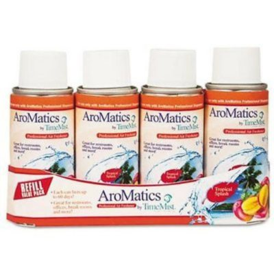 AroMatics by TimeMist Professional Air Freshener Refill Value Pack, Tropical Splash.  Ends: Aug 23, 2014 9:05:00 PM CDT