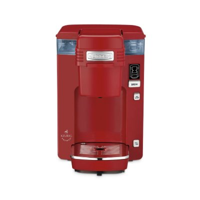 Cuisinart Single Serve Compact Coffee Maker, Red.  Ends: Sep 2, 2014 9:00:00 AM CDT
