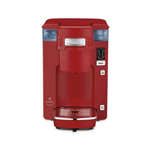 Cuisinart Single Serve Compact Coffee Maker Red