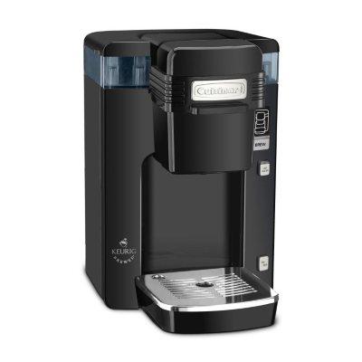 Cuisinart Single Serve Compact Coffee Maker, Black.  Ends: Sep 1, 2014 4:25:00 PM CDT