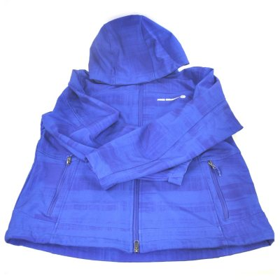 Ladies Hooded Softshell Jacket, Blue (XXL).  Ends: Aug 23, 2014 2:30:00 PM CDT