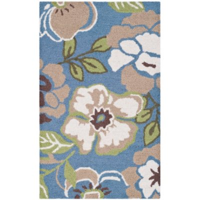 """Garland Collection Luxury Wool Accent Rug, Periwinkle (24"""" x 40 """").  Ends: Nov 24, 2014 6:25:00 PM CST"""