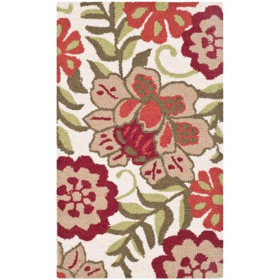 """Garland Collection Luxury Wool Accent Rug, Primrose Red (24"""" x 40 """").  Ends: Jan 30, 2015 2:00:00 AM CST"""