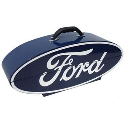 GOBOXES Ford Logo Steel Tool Box