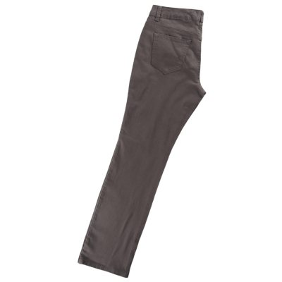 Samantha Straight Leg Colored Jean, Chrome (Size 12).  Ends: Aug 22, 2014 7:30:00 PM CDT