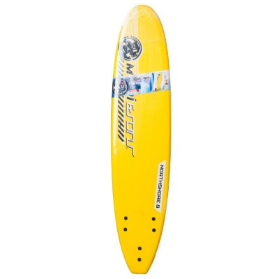 Maui & Sons 8' Soft Surfboard, Yellow.  Ends: Nov 1, 2014 8:45:00 AM CDT