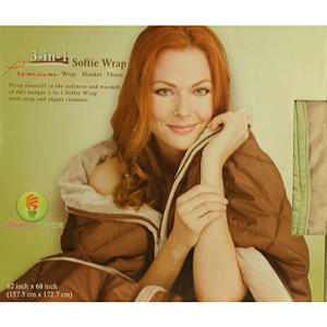 3-in-1 Softie Wrap - Sage