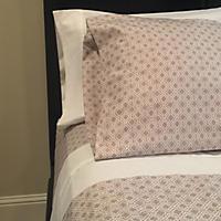 Brooklyn Loom Soft Touch 12-Piece Sheet Set, Ivory Chevron (Queen)