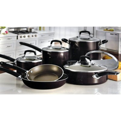 Tramontina 11 pc. Nonstick Cookware Set, Purple.  Ends: Aug 23, 2014 2:35:00 PM CDT