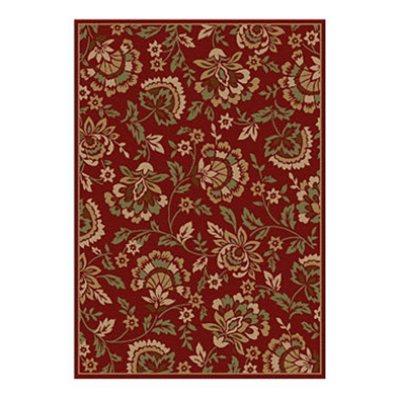 Sorrento Rug Bess Floral Red 8x10