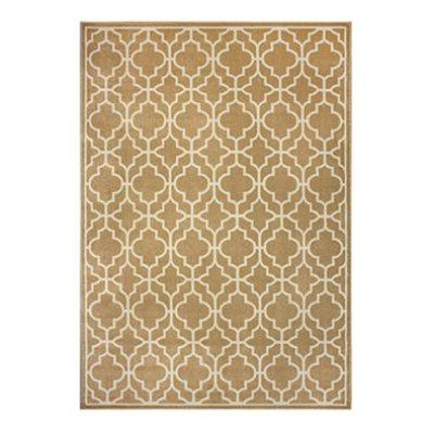 Sorrento Rug Taza Tile Gold 8x10