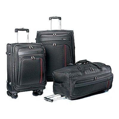 Samsonite 3PC Luggage Set, Black.  Ends: Apr 27, 2015 1:00:00 AM CDT