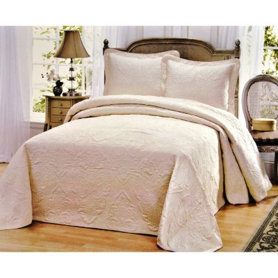 Laura Ashley 3 Pc. Bedding Set, White (Queen).  Ends: Sep 3, 2014 7:30:00 AM CDT