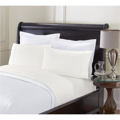 London Fog Soft Touched Sheet Set, Ivory (King).  Ends: Dec 18, 2014 10:40:00 PM CST