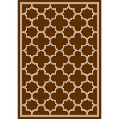 Sorrento Area Size Room Rug, Brownstone Brown (8' x 10').  Ends: Apr 18, 2014 6:40:00 AM CDT
