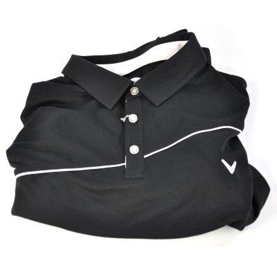 Callaway Golf Men's Polo Shirt, Caviar (Size XL).  Ends: Sep 19, 2014 2:40:00 PM CDT