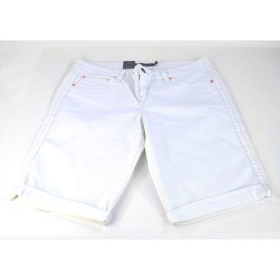 Calvin Klein Denim Bermuda Shorts, White (Size 27).  Ends: Oct 1, 2014 1:00:00 AM CDT