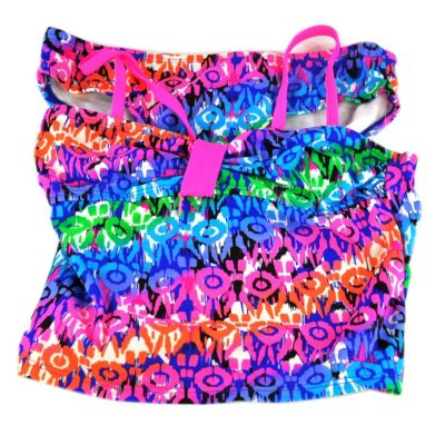 Girl's Swimwear, Circles (Size 8) - 2 pc..  Ends: Sep 19, 2014 1:30:00 PM CDT
