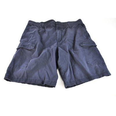 Izod Cargo Shorts, Blue (Size 38).  Ends: Sep 30, 2014 3:30:00 PM CDT
