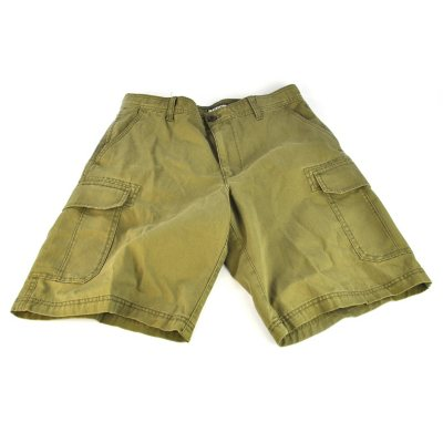 Izod Cargo Shorts, Military (Size 34).  Ends: Oct 1, 2014 6:05:00 PM CDT
