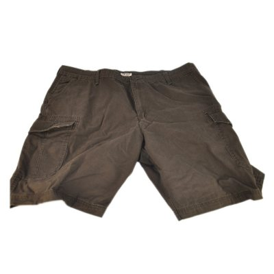 Izod Cargo Shorts, Brown (Size 36).  Ends: Oct 1, 2014 7:40:00 PM CDT